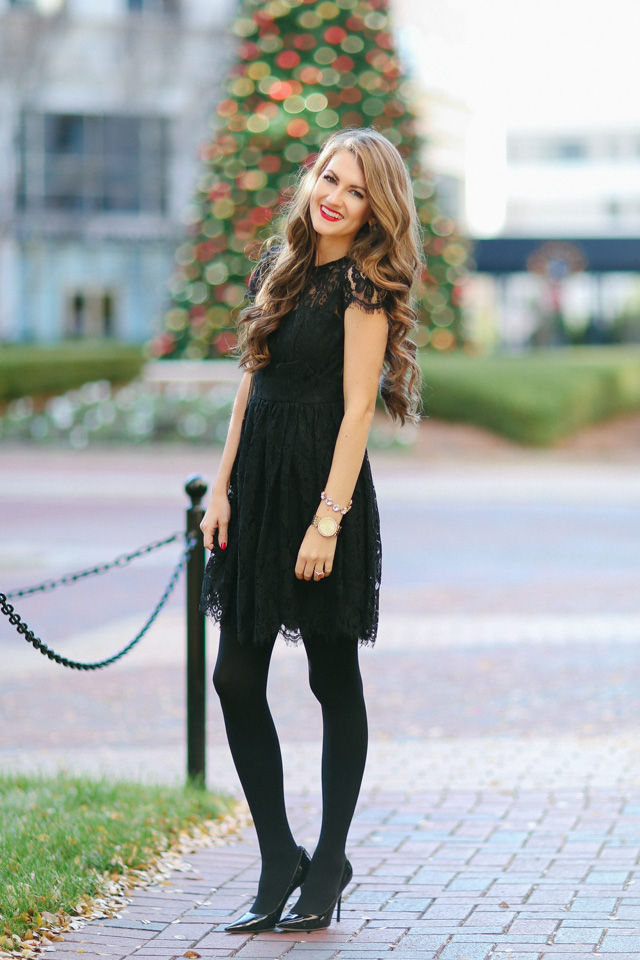 10 Easy Ways to Update Your Little Black Dress. By. by Rose Marie Walano. You've got to get a lot of wear out of your favorite little black dress. Dress up your black dress with polka-dot tights.