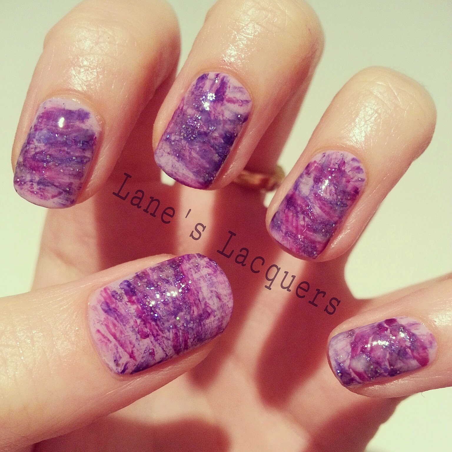 barry-m-purple-brush-stroke-nail-art