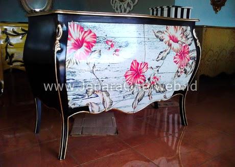 Natural in Black Filling Cabinet JeparaOne