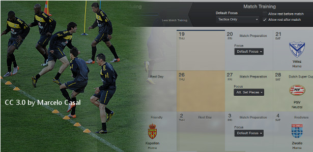 Football Manager Training Schedules