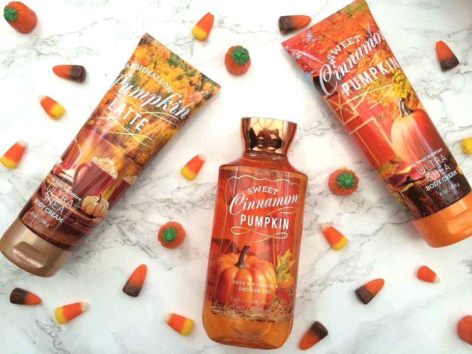 Beauty: Bath and Body Works Autumn Goodies