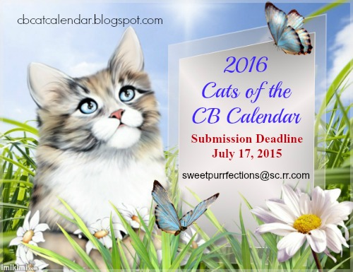 2016 Cats of the CB Calendar