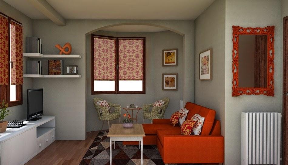 Arantxa amor decoraci n marzo 2015 - Muebles de pladur para salon ...