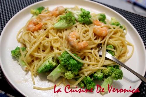 La Cuisine De Veronica 羅馬椰菜花大蝦意粉