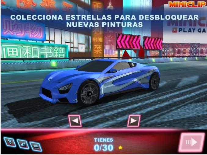 Juegos gratis de carros - Turbo Racing 3