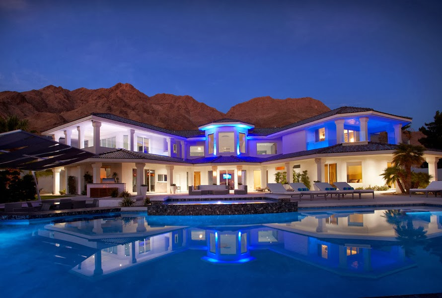 luxury las vegas pool homes by zip code