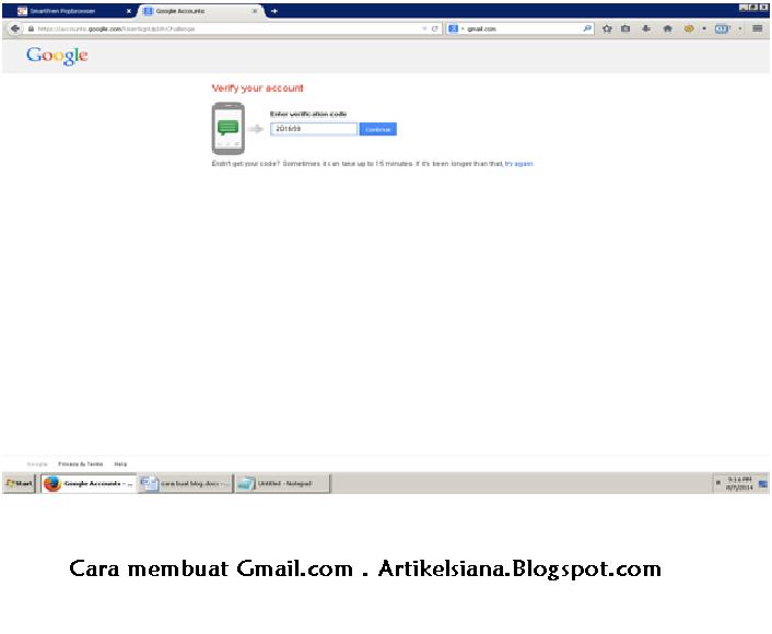 Cara Membuat email (Gmail )