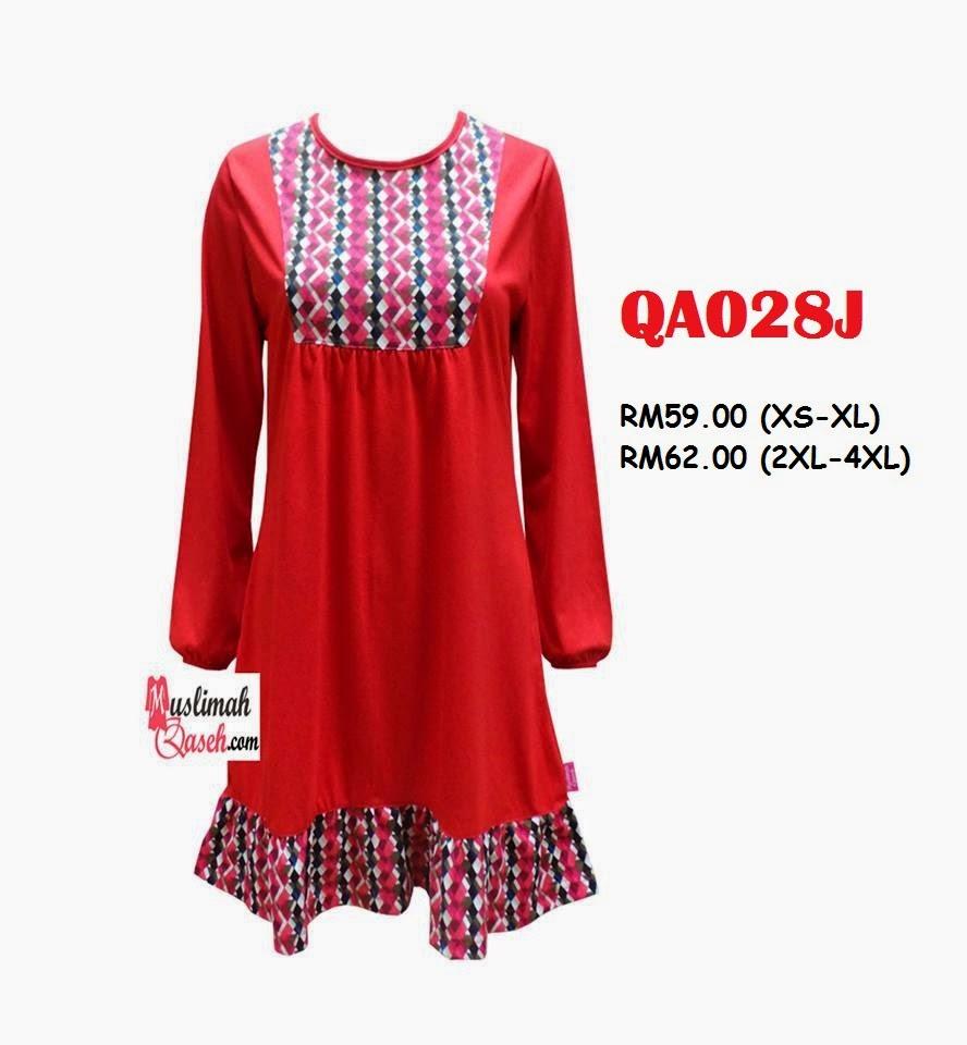 T-Shirt-Muslimah-Qaseh-QA028J