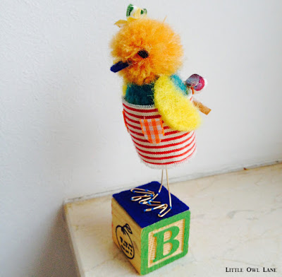 Szilla the Duck #3 Original Sculpture by Lady Lucas $34