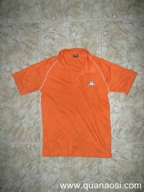 Áo thun KAPPA nam chính hãng màu cam giá rẻ 70k