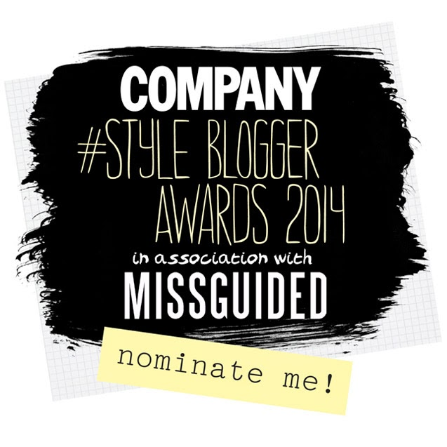 Nominate me for the Personal Style Blogger Award!