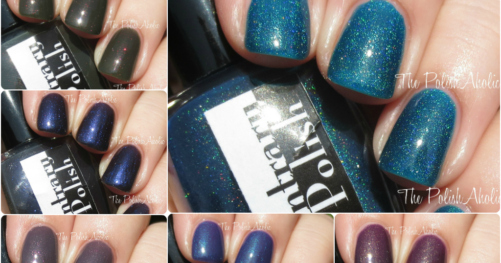The PolishAholic: Contrary Polish Fall 2014 Book Nerd Collection ...