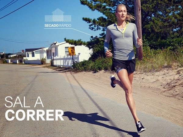 moda deportiva mujer H&M ropa para correr