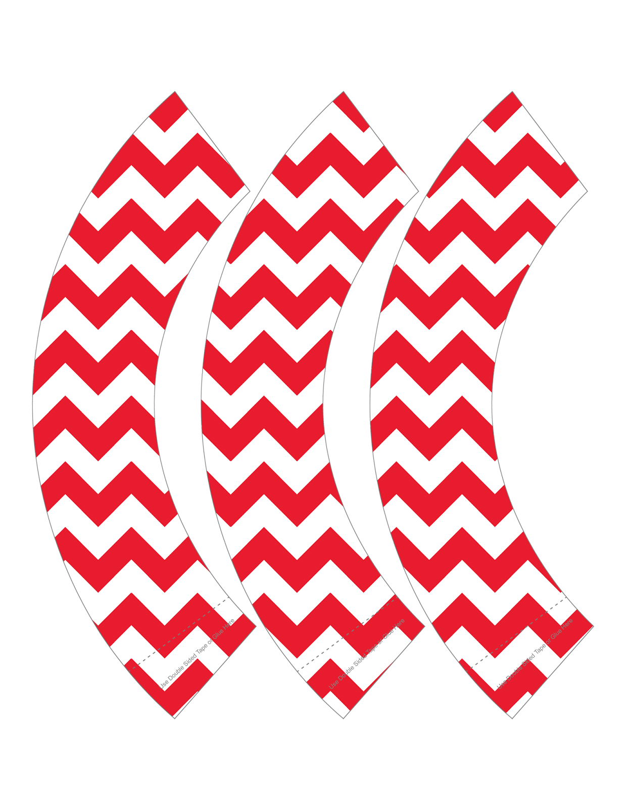 chevron cupcake wrappers free printable
