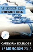 Blog Ganador Premio UBA 2013