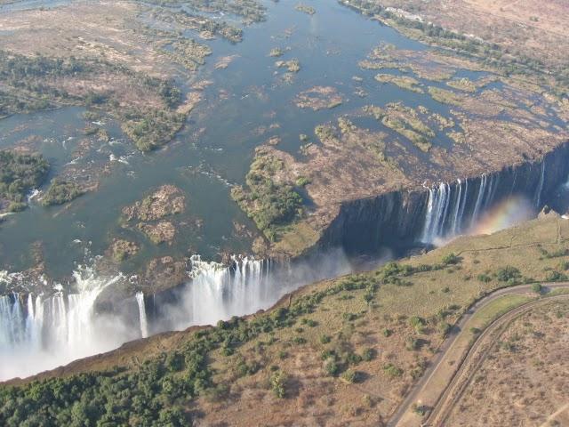 Victoriafälle in Südafrika