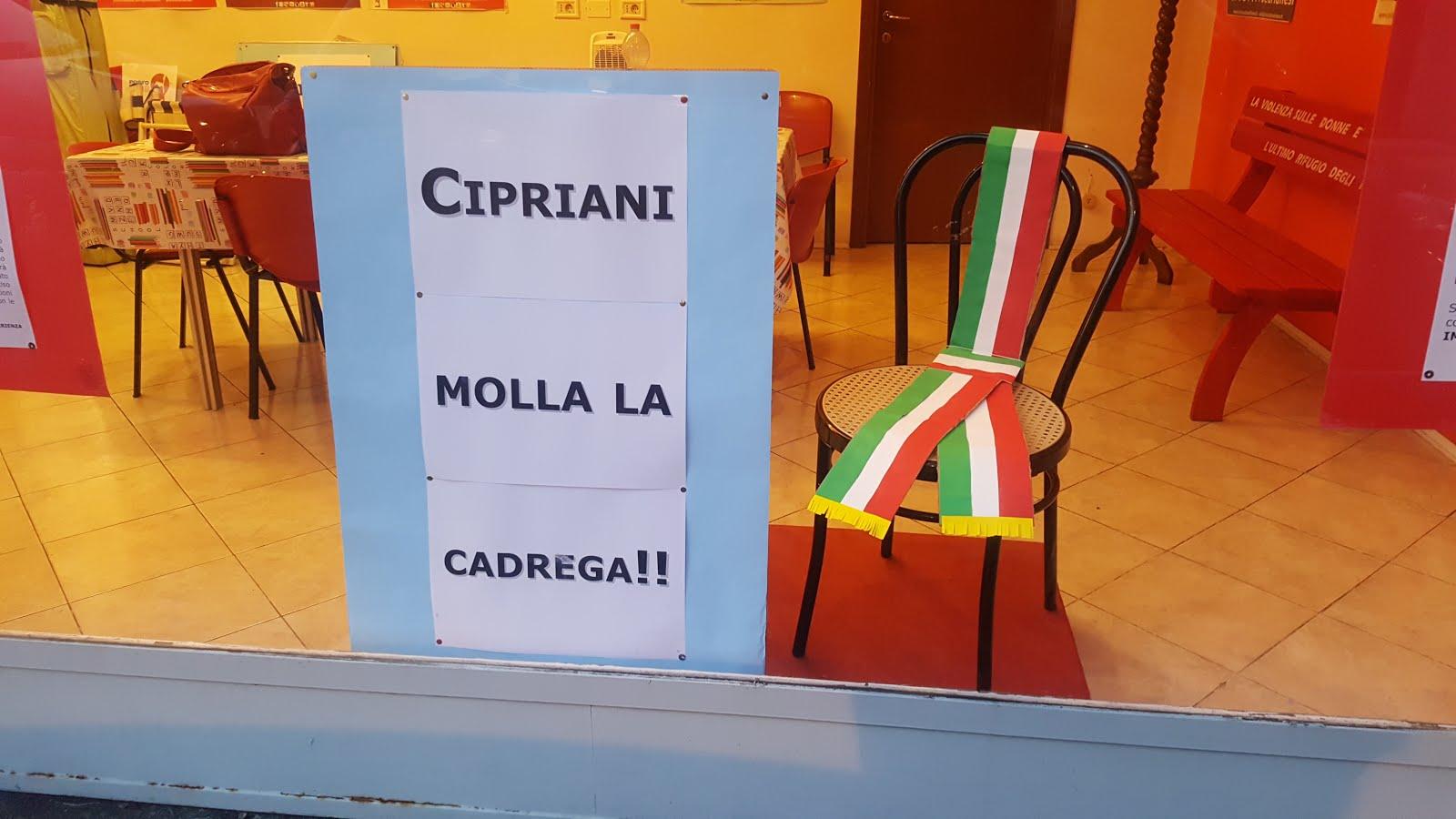 CIPRIANI DIMISSIONI SUBITO !!