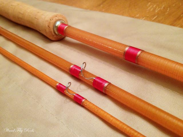 Ward fly rods sneak preview 5 6wt 8ft fiberglass fly rod for Fiberglass fishing rods