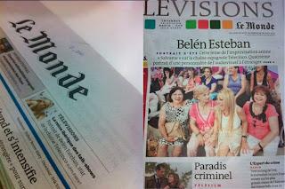 Le Monde dedicó un reportaje e Belén Esteban