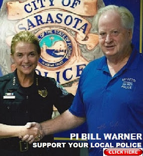 Recent Graduate of Highly Recommended Sarasota Police Dept Citizens Academy is me, Bill Warner