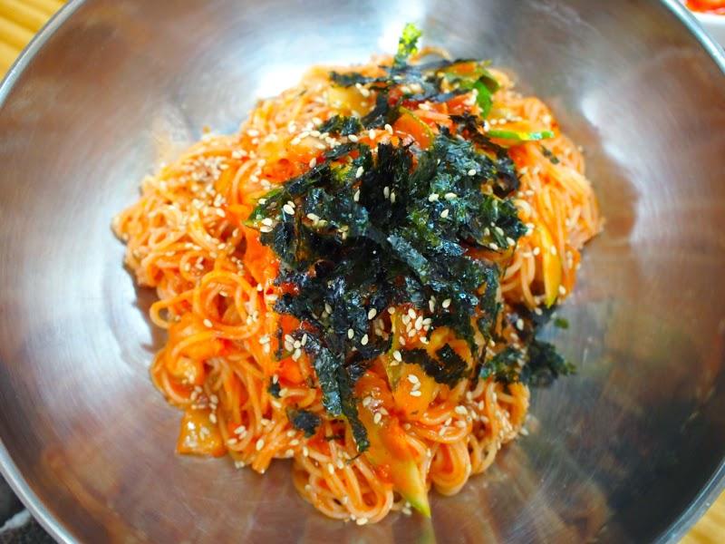 Ewha University Summer Studies Program Travel Seoul Korea JinGukSoo Banquet Noodles lunarrive blog singapore