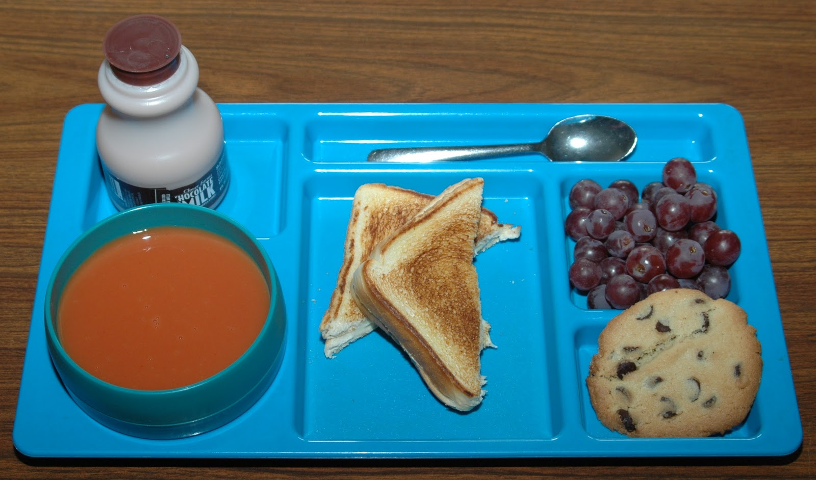 There\'s a Dad in the Kitchen!: LUNCH: Cream of Tomato Soup & Grilled ...