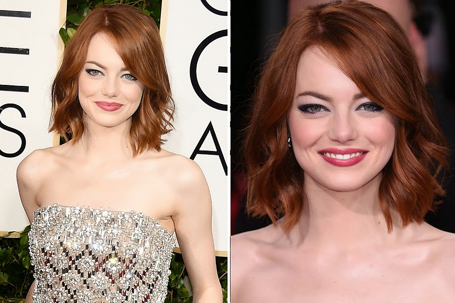 Emma Stone Golden Globe Awards 2015