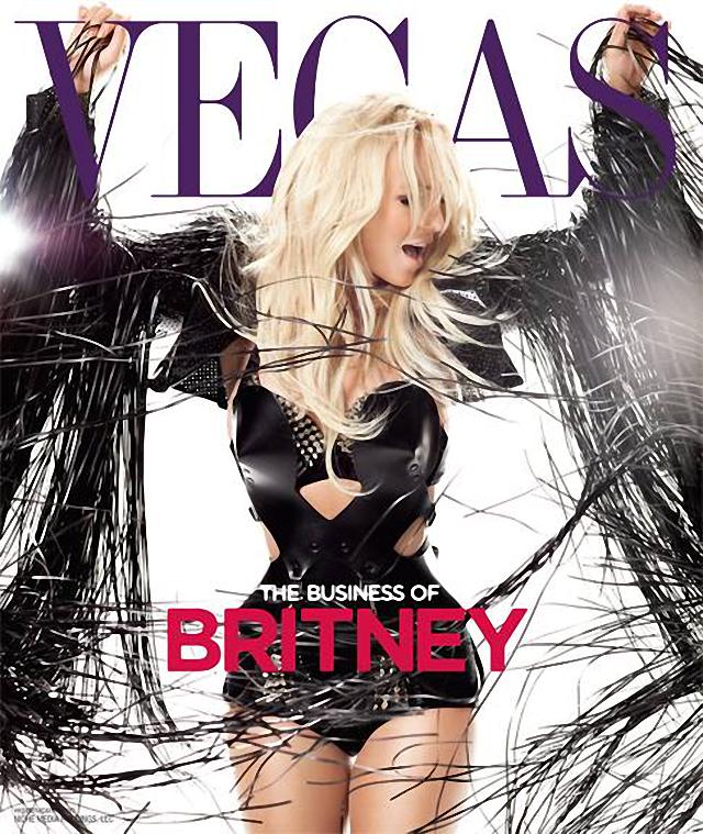 Britney Spears es la nueva portada de Vegas Magazine Febrero 2014