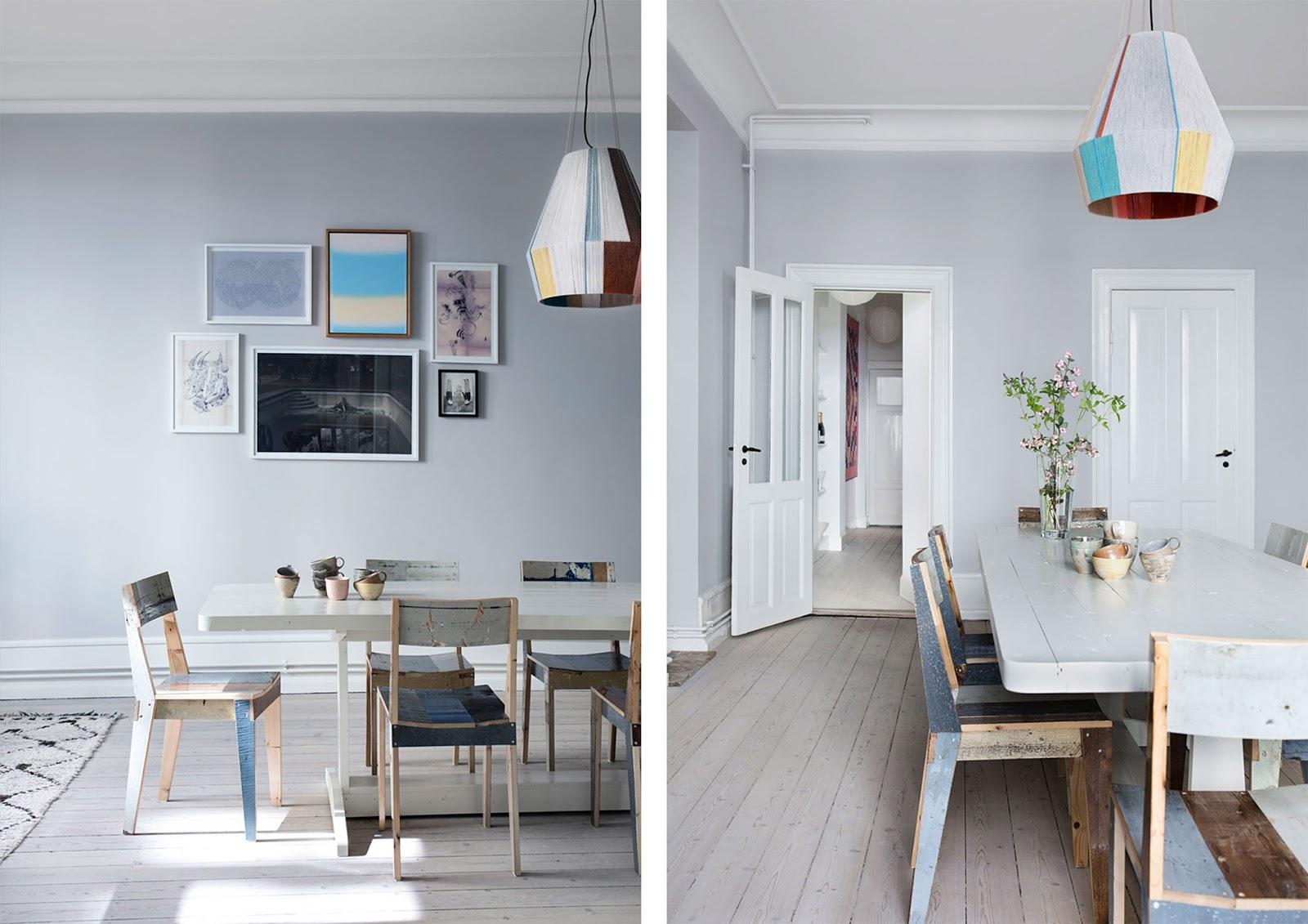 Appartamento nordico con richiami francesi ed arredi di for Portale arredamento
