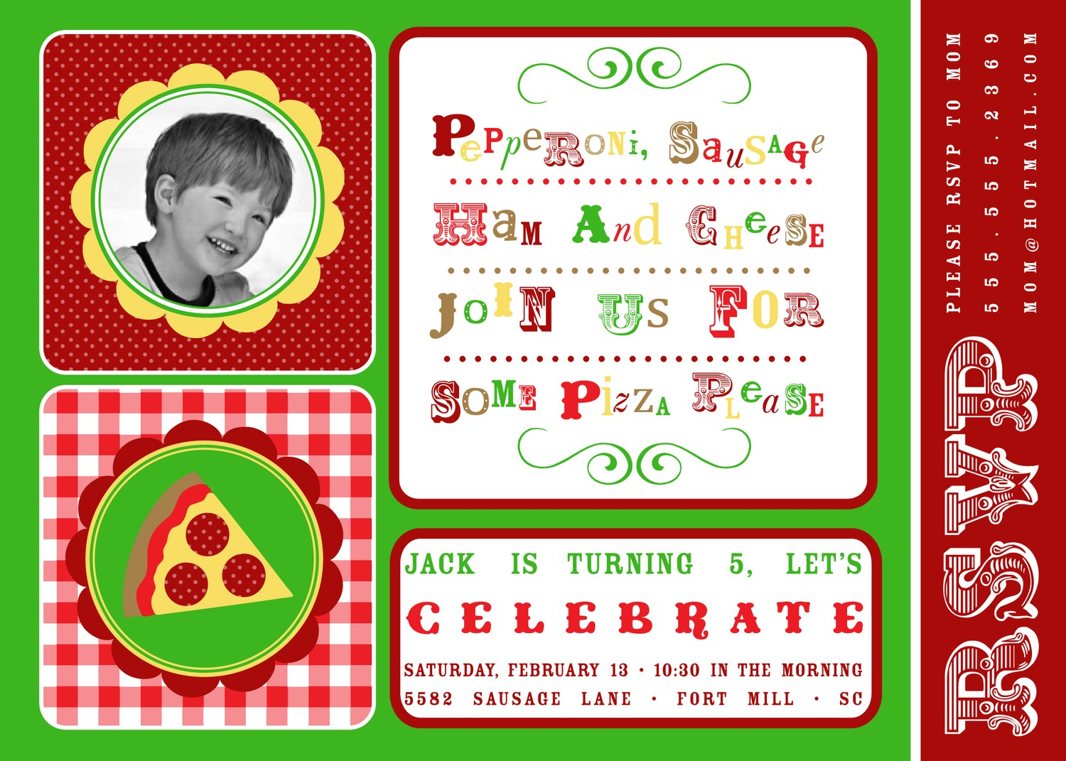 It\'s a Pizza and Pajamas Party! - Anders Ruff Custom Designs, LLC