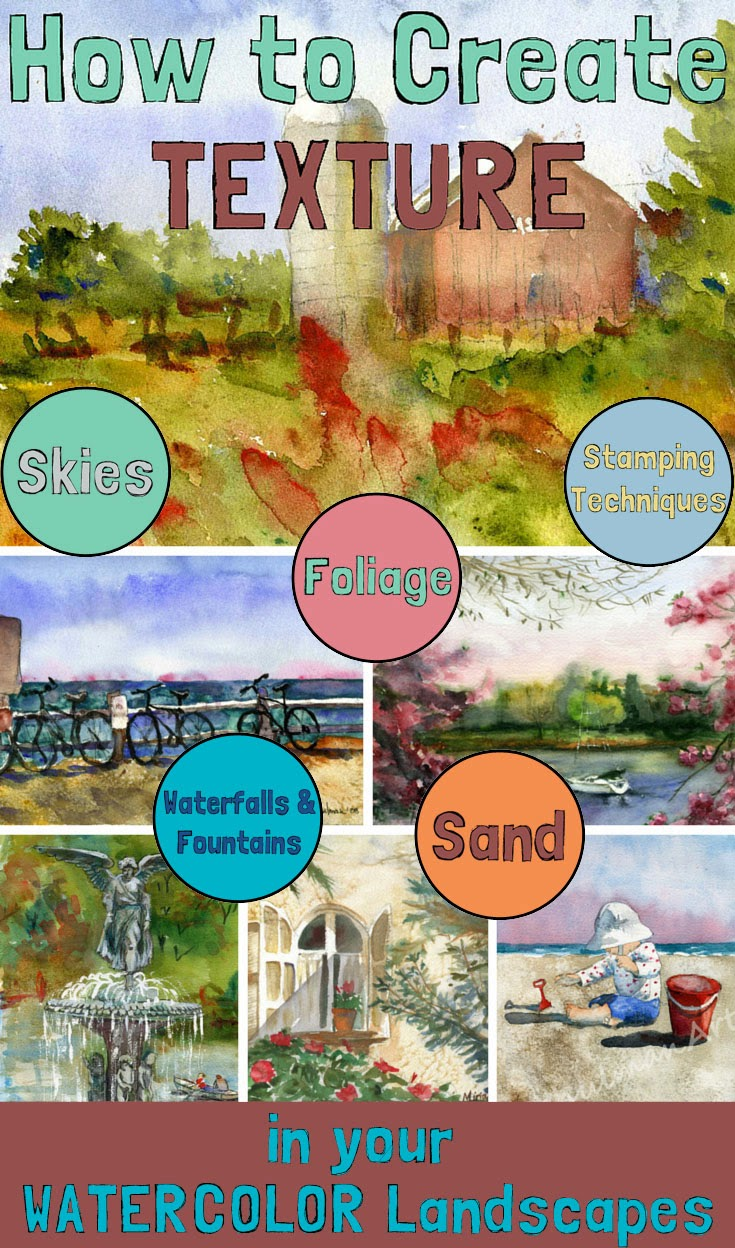 online art classes in watercolor techniques http://schulmanart.blogspot.com/2015/03/who-else-wants-to-win-free-art-class.html