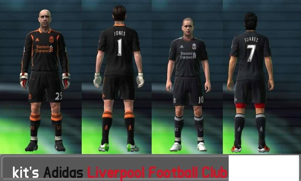 Nuvos Uniformes Do Liverpool Football Club  Para Temporada 11 12  By