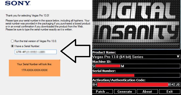 sony vegas pro 9.0 keygen free download