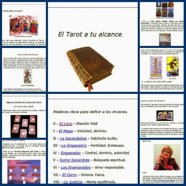 Collage libro El tarot a tu alcance 2