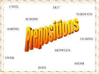 Belajar Bahasa Inggris Prepositional Phrase