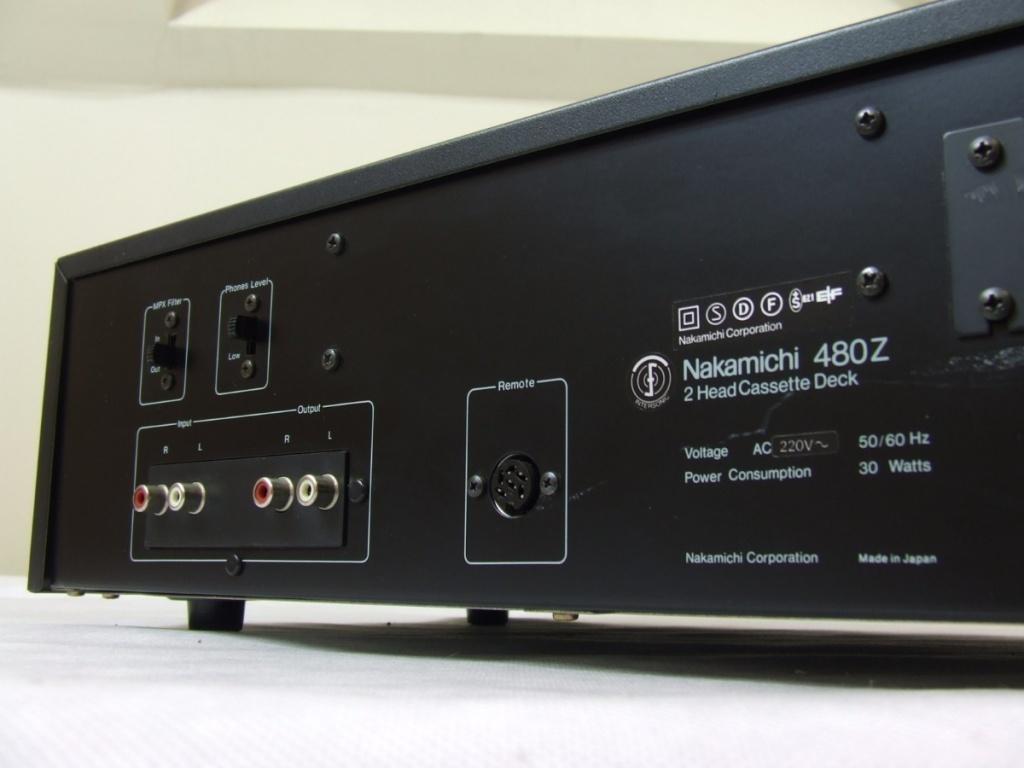 nakamichi cassette deck 2 manual