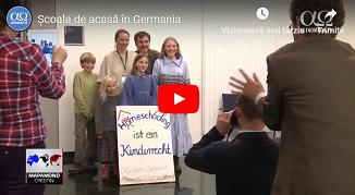 Alfa Omega TV: Școala de acasă în Germania