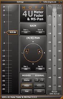Plugin de audio gratis. HOFA 4U meter