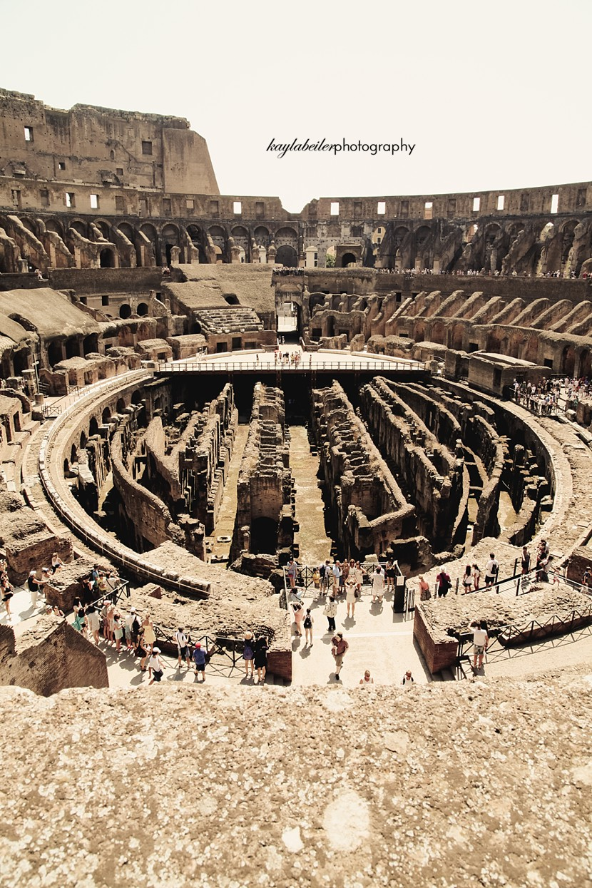 inside the colosseum photo