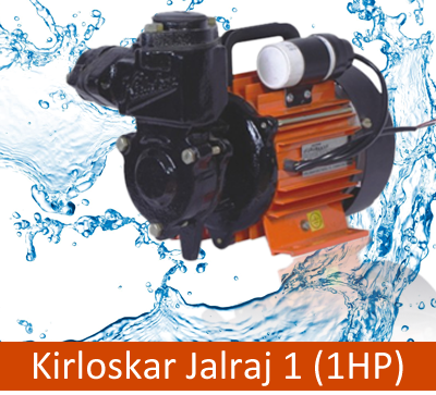 Kirloskar Jalraj 1 (1HP) Online, India - Pumpkart.com