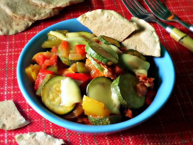 Zucchini Pisto Manchego - lacocinadeleslie.com