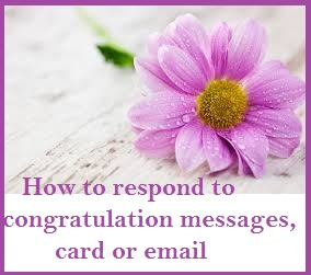 Congratulation messages reply to congratulation messages card or how to respond to congratulation messages card or emailreply to congratulation messages card or email response to congratualtion messages how to m4hsunfo