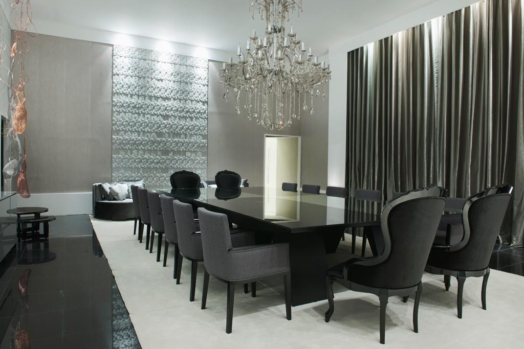 15 Salas de jantar com lustres clássicos - veja ambientes lindos ...
