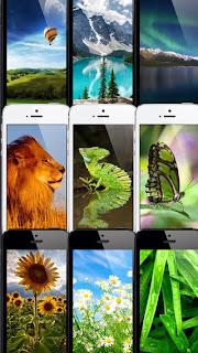 تطبيق مجانى للآيفون والآيباد والآيبود يحتوى على مجموعة ضخمة من الخلفيات المميزة بجودة عالية (Wallpapers-80,000+-(iOS 7