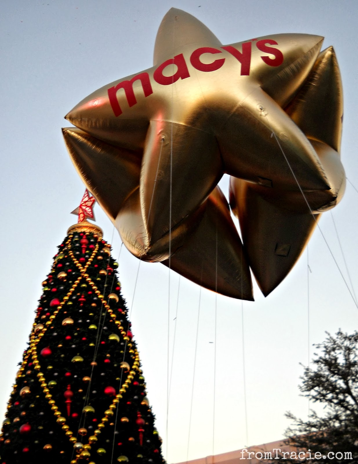 Macy's Gold Star Balloon