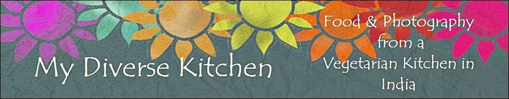 My Diverse Kitchen - Food & Photography From A Vegetarian Kitchen In India