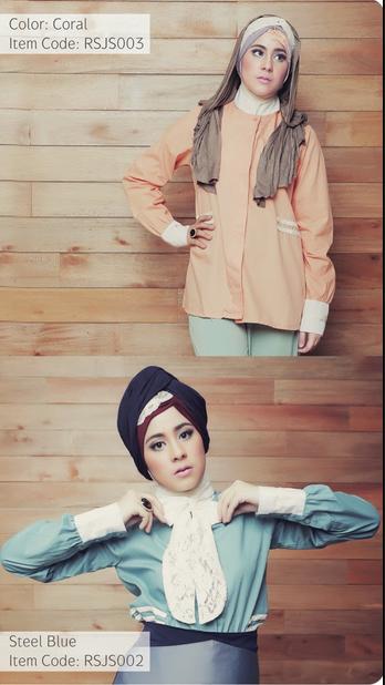 Koleksi Model Baju Muslim Ala Artis Risty Tagor Modern Terbaru 2015