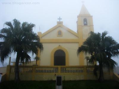 Fachada frontal da igreja Nosso Senhor Bom Jesus de Paranapiacaba