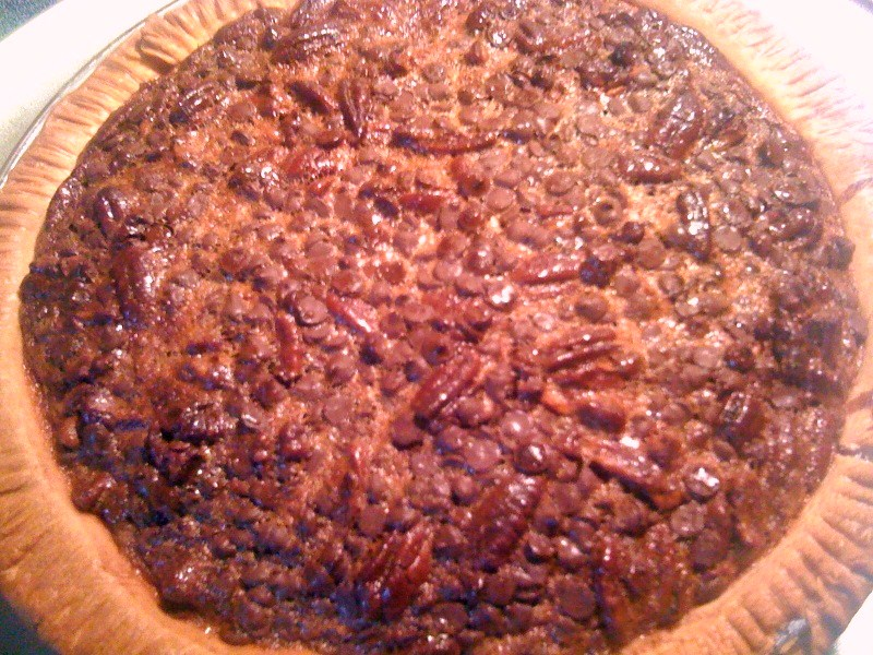 Sweet Tea and Cornbread: Chocolate Bourbon Pecan Pie!
