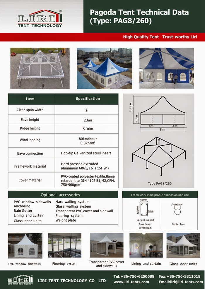 Pagoda Outdoor Gazebo Tents for Sale